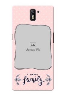 OnePlus One A happy family with polka dots Design
