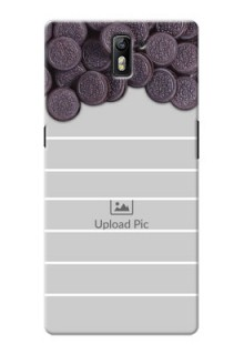 OnePlus One oreo biscuit pattern with white stripes Design Design