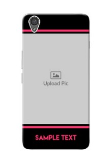 OnePlus X Photo With Text Mobile Case Design