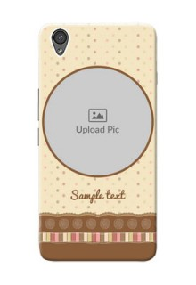 OnePlus X Brown Abstract Mobile Case Design