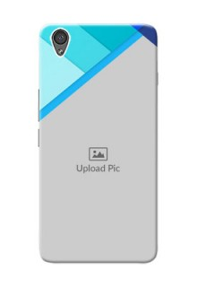OnePlus X Blue Abstract Mobile Cover Design