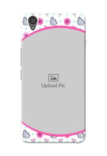 OnePlus X Colourful Flowers Mobile Cover Design
