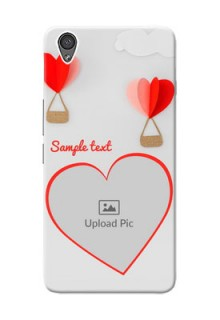 OnePlus X Love Abstract Mobile Case Design