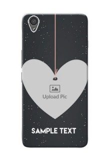 OnePlus X Hanging Heart Mobile Back Case Design