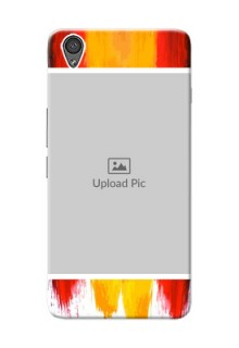 OnePlus X Colourful Mobile Cover Design