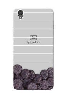 OnePlus X oreo biscuit pattern with white stripes Design Design