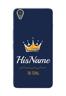Oneplus X King Phone Case with Name