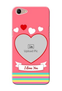 Oppo A1 Personalised mobile covers: Love Doodle Design