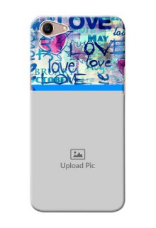 Oppo A1 Mobile Covers Online: Colorful Love Design