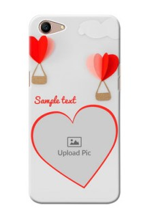 Oppo A1 Phone Covers: Parachute Love Design