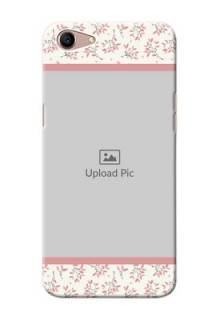 Oppo A1 Back Covers: Premium Floral Design