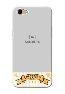 Oppo A1 Personalized Mobile Cases: My Family Design