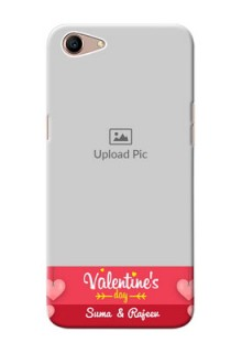 Oppo A1 Mobile Back Covers: Valentines Day Design