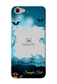 Oppo A1 Personalised Phone Cases: Halloween frame design