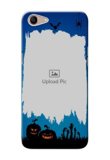 Oppo A1 mobile cases online with pro Halloween design