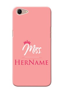 Oppo A1 Custom Phone Case Mrs with Name