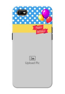 Oppo A1K custom mobile back covers: Happy Birthday Design