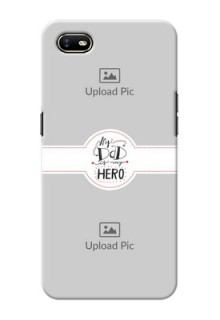 Oppo A1K custom mobile phone cases: My Dad Hero Design