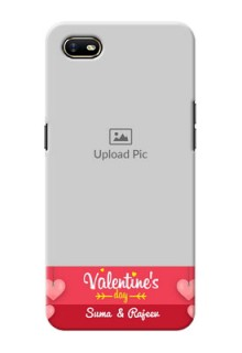 Oppo A1K Mobile Back Covers: Valentines Day Design