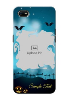 Oppo A1K Personalised Phone Cases: Halloween frame design
