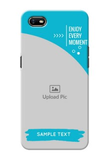 Oppo A1K Personalized Phone Covers: Happy Moment Design
