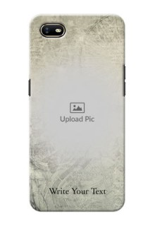Oppo A1K custom mobile back covers with vintage design