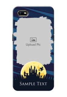Oppo A1K Back Covers: Halloween Witch Design