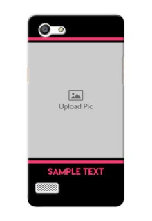 Oppo A33 Photo With Text Mobile Case Design