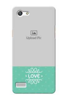 Oppo A33 Lovers Picture Upload Mobile Cover Design