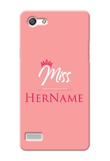 Oppo A33 Custom Phone Case Mrs with Name