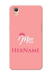 Oppo A37 Custom Phone Case Mrs with Name