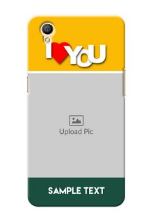 Oppo A37F I Love You Mobile Case Design