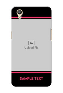 Oppo A37F Photo With Text Mobile Case Design