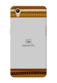 Oppo A37F Friends Picture Upload Mobile Cover Design