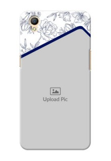 Oppo A37F Floral Design Mobile Cover Design