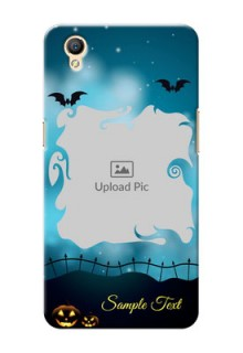 Oppo A37F halloween design with designer frame Design