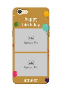 Oppo A39 2 image holder with birthday celebrations Design