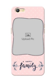 Oppo A39 A happy family with polka dots Design