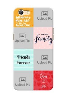 Oppo A39 4 image holder with multiple quotations Design