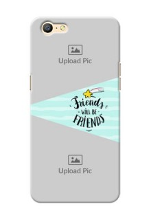 Oppo A39 2 image holder with friends icon Design