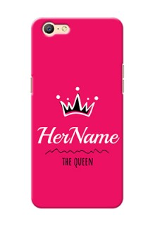 Oppo A39 Queen Phone Case with Name