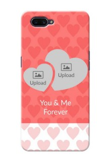 OPPO A3s personalized phone covers: Couple Pic Upload Design