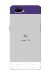 OPPO A3s mobile phone cases: Violet Pattern Design