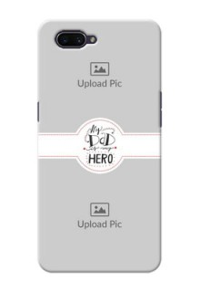 OPPO A3s custom mobile phone cases: My Dad Hero Design