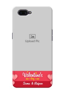 OPPO A3s Mobile Back Covers: Valentines Day Design