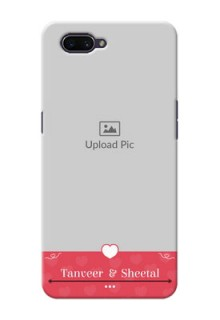 OPPO A3s Mobile Cases: Simple Love Design