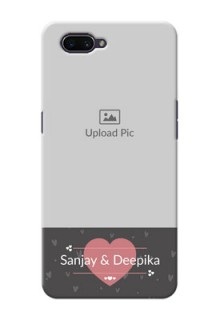 OPPO A3s Mobile Covers: Buy Love Design with Photo Online