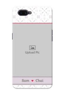 OPPO A3s Phone Cases with Photo and Ethnic Design