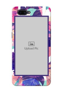OPPO A3s Personalised Phone Cases: Abstract Floral Design
