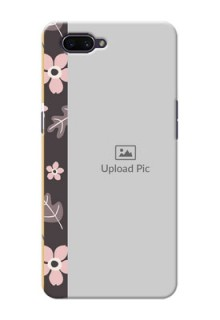OPPO A3s mobile cases online: Stylish Floral Design